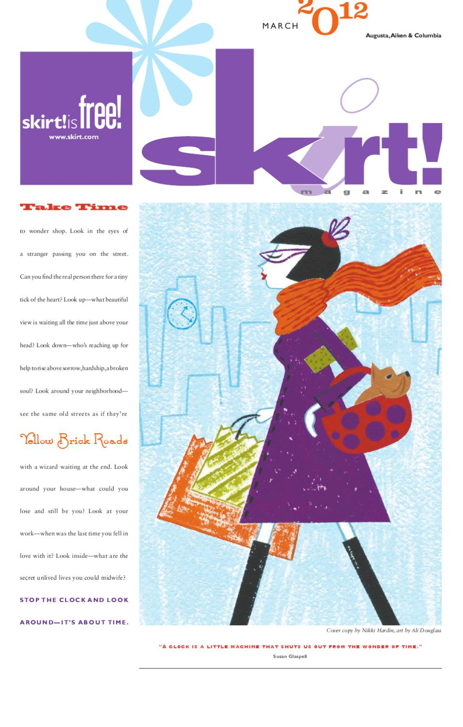 March 2012 Print Issue By Skirt
