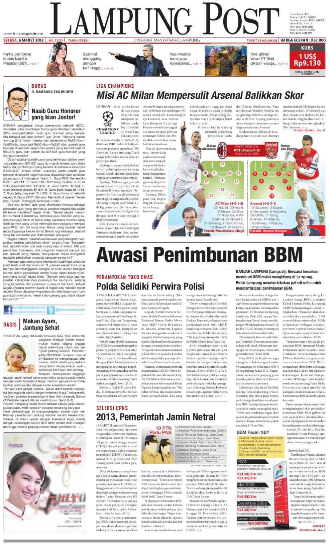 lampungpost edisi selasa 6 maret 2012 by Lampung Post - issuu 26dd094c1e