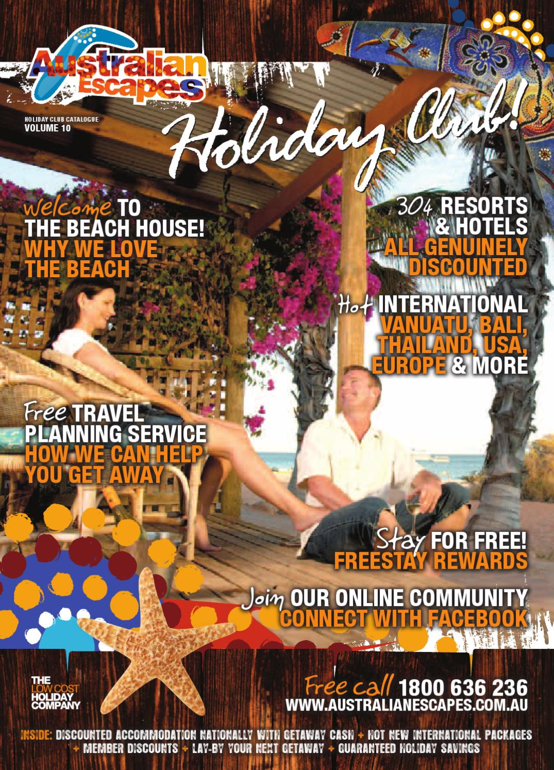 Australian Escapes Holiday Club Catalogue - Volume 10 by Australian ...