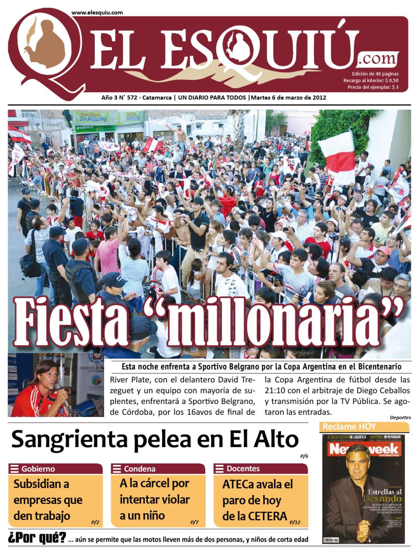 El Esquiu.com Martes 6 de marzo de 2012 by Editorial El Esquiú - issuu