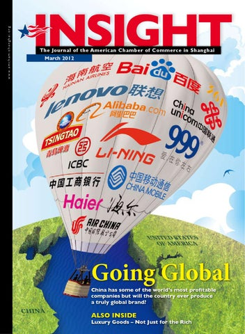 Insight Magazine March 2012 by The American Chamber of Commerce in