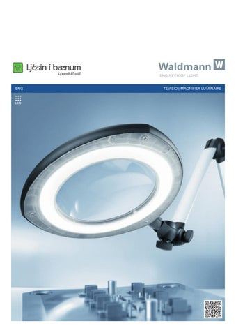 Eng tevisio magnifier luminaire