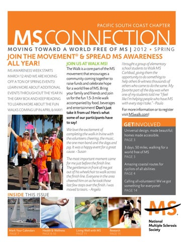 Spring 2012 MS Connection by National MS Society - Pacific South ... 7a044b5d9