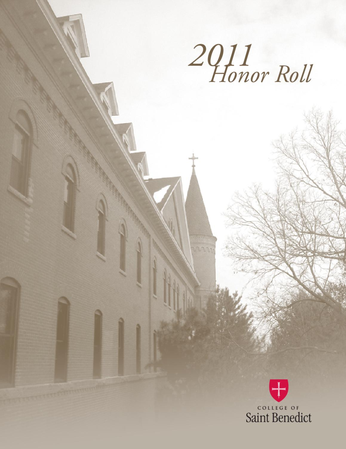 CSB 2011 Honor Roll of Donors by CSB & SJU - issuu