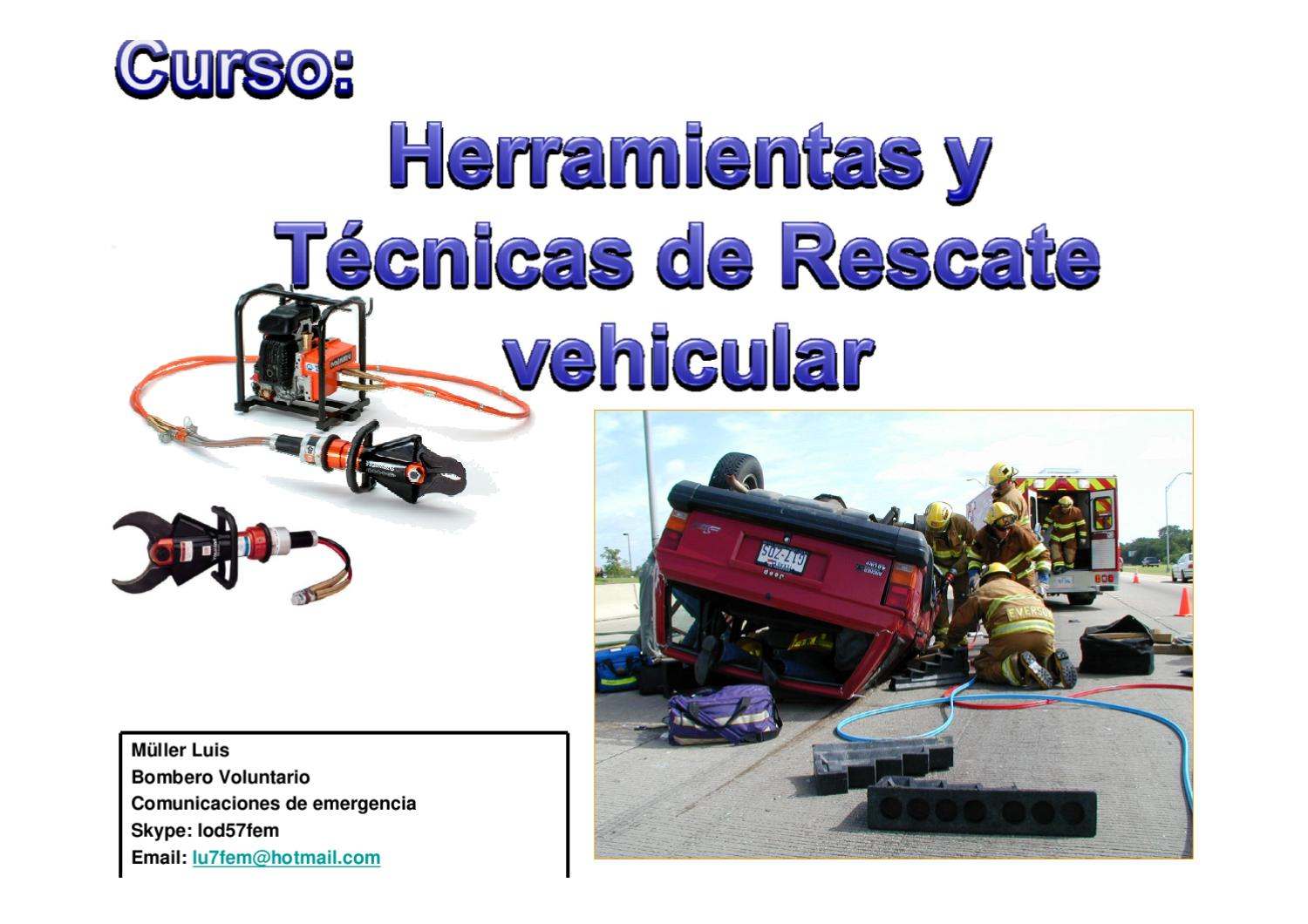 Rescate Vehicular by Luis Muller - issuu