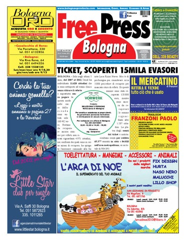 Freepress 203 by La Tribuna srls - issuu b7801ceca84