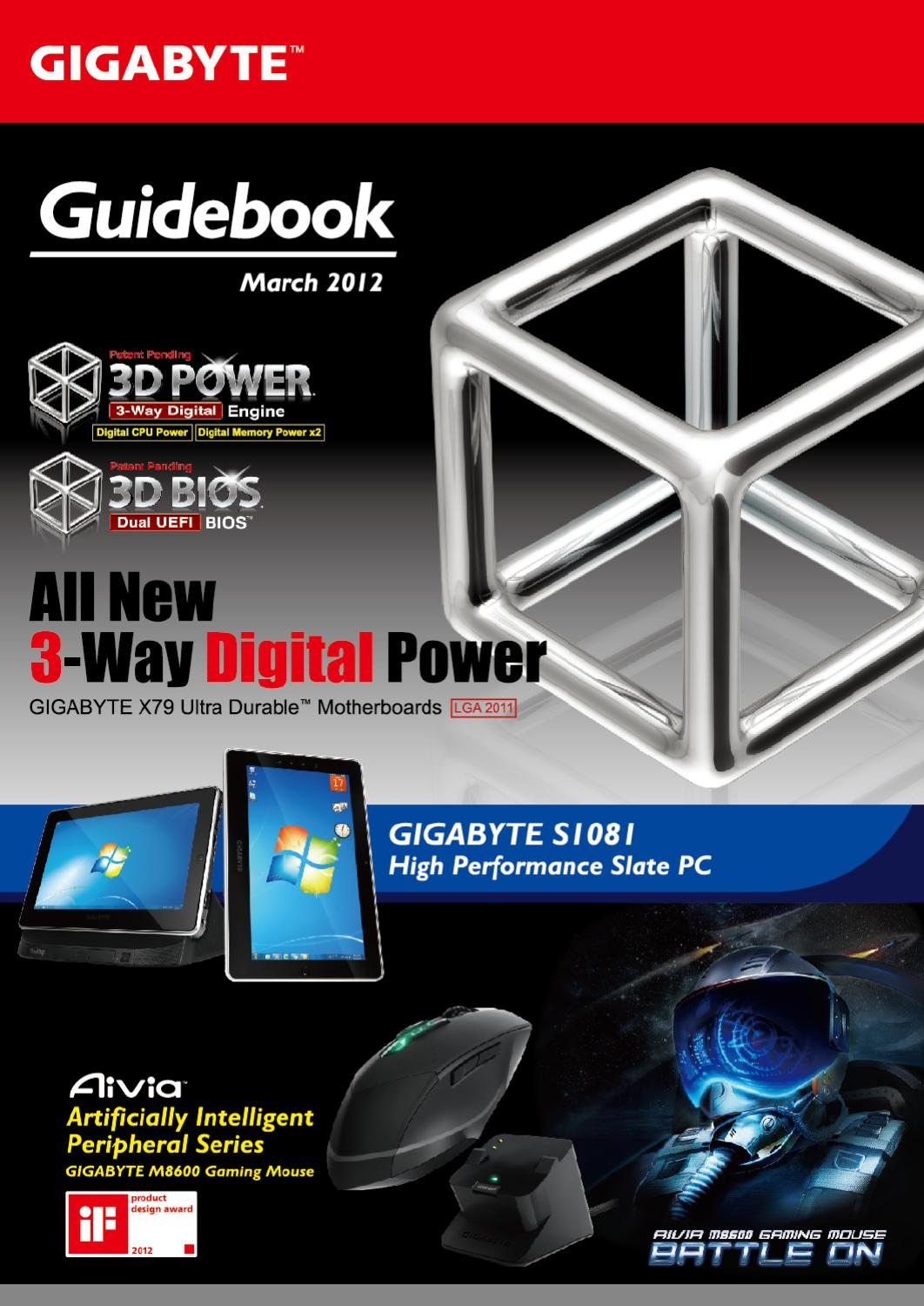 GIGABYTE Guidebook March 2012 by GIGABYTE Technology - issuu
