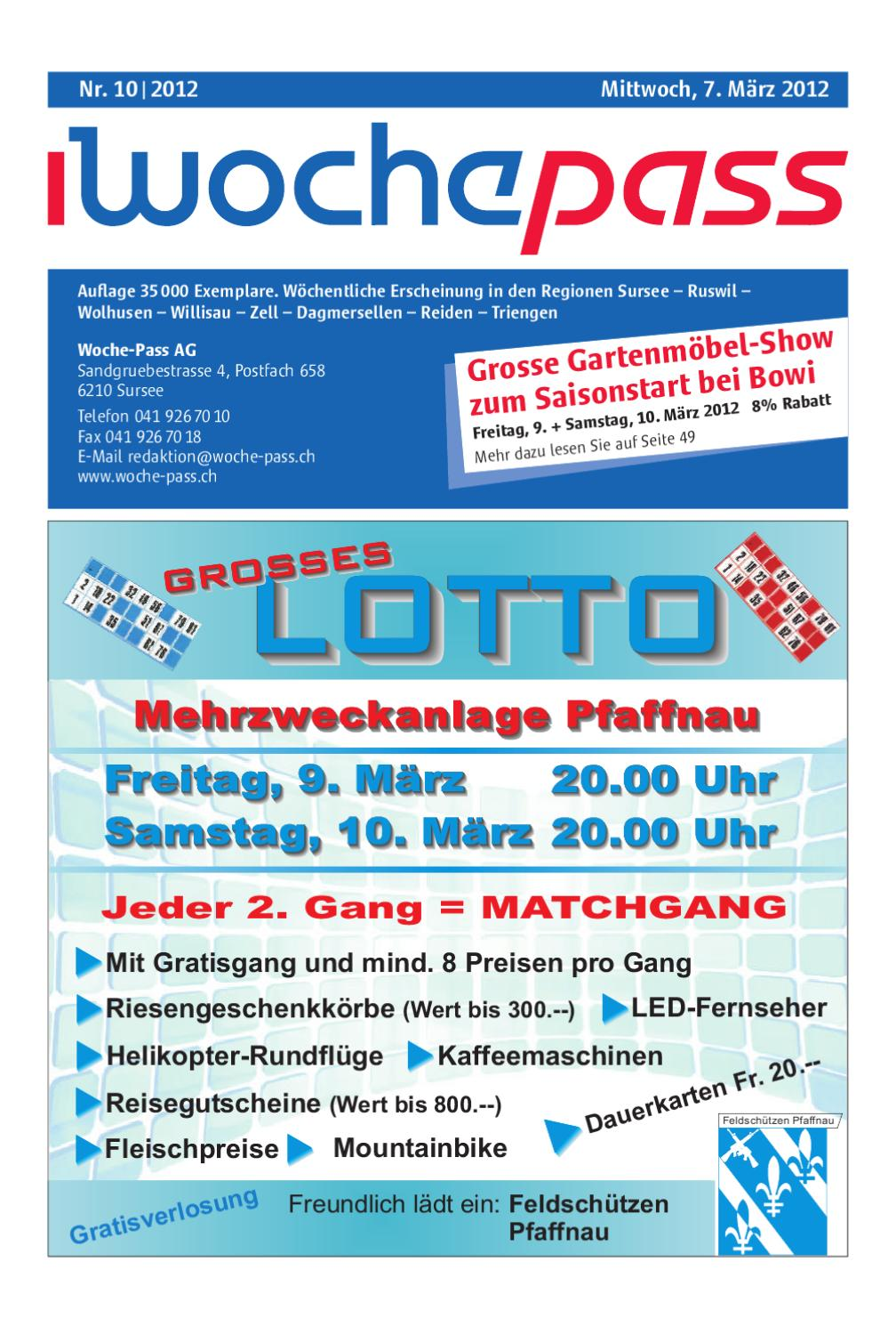 Woche-Pass | KW46 | 13. November 2013 by Woche-Pass AG