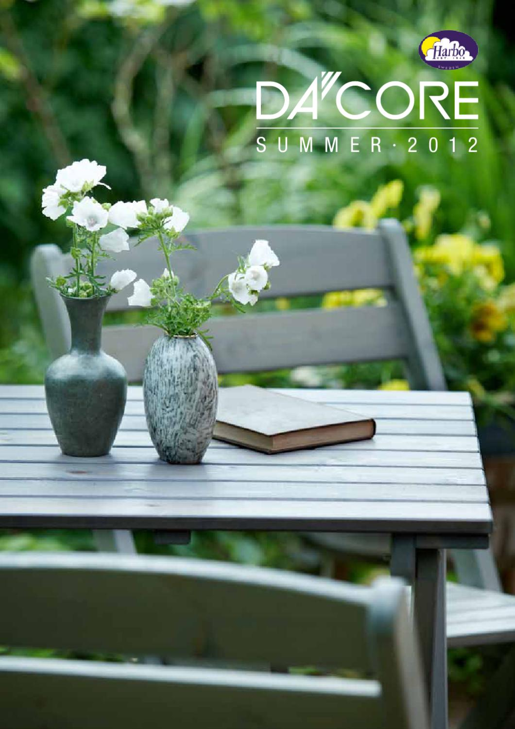 DACORE - HARBO garden furniture, outdoor catalog 2012 by ...