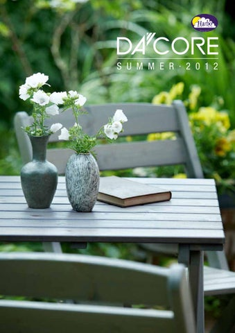 Dacore Harbo Garden Furniture Outdoor Catalog 2012 By