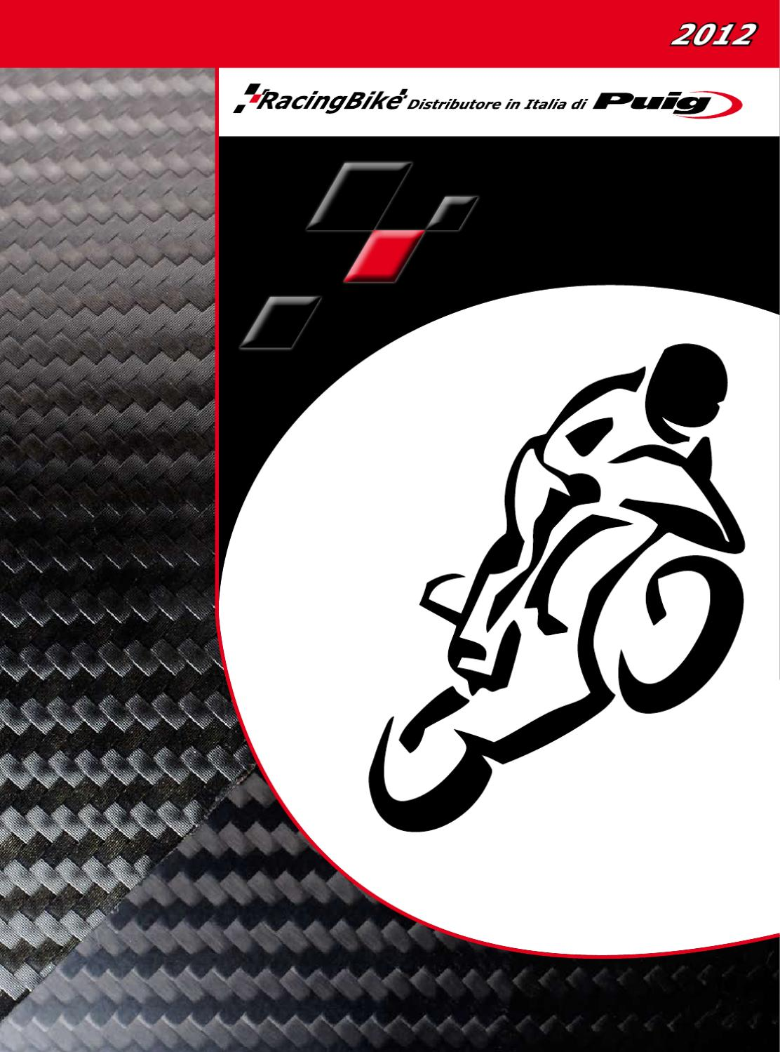 medium /2010 Puig 4511/N parabrezza per Yamaha FZ6/S2/2009/ nero