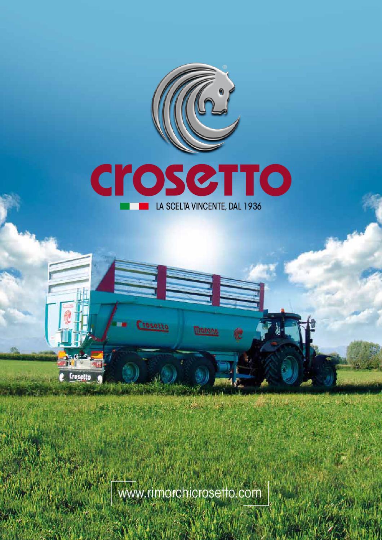Crosetto 2012 by agrimec di crosetto issuu for Crosetto rimorchi agricoli