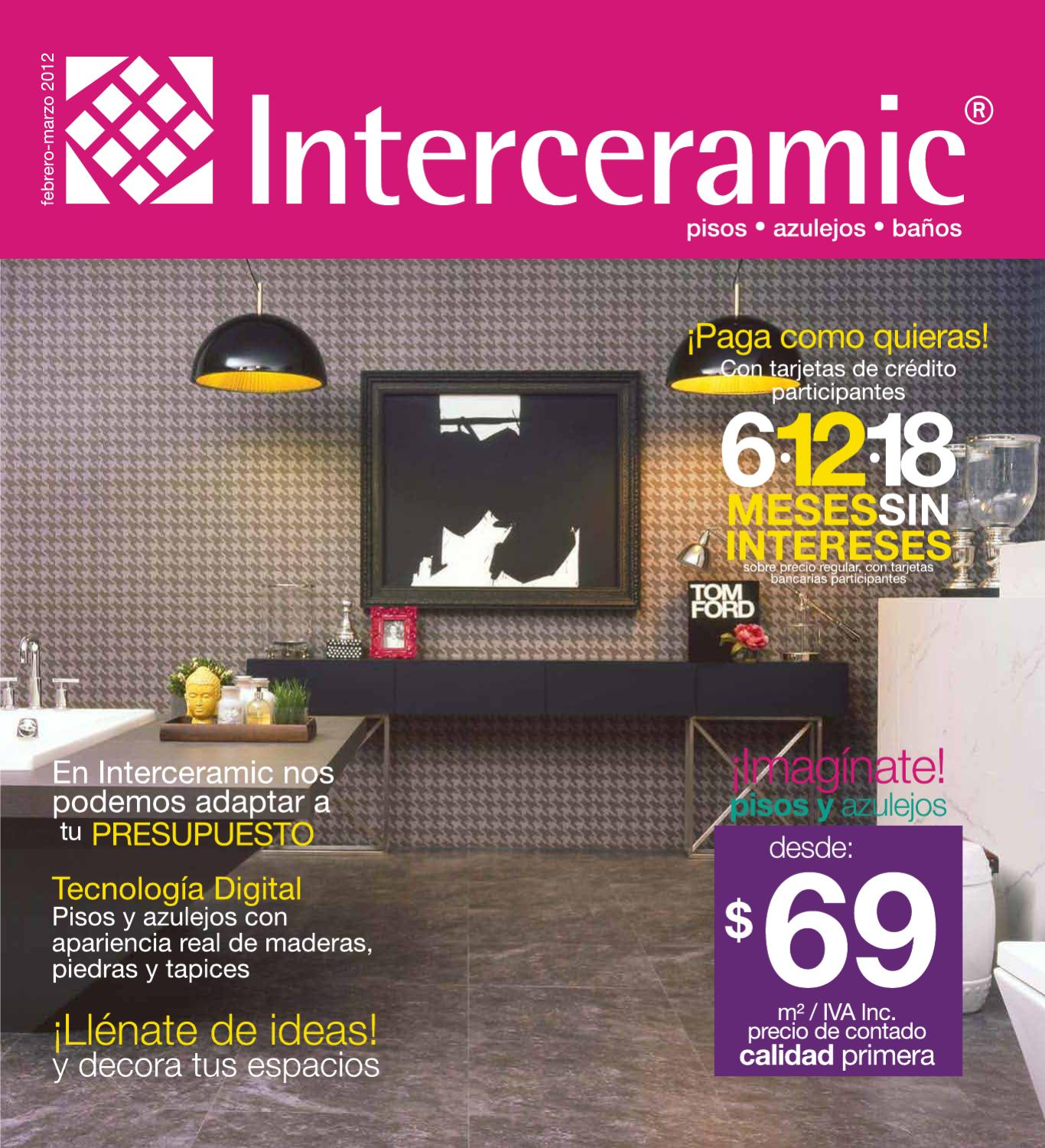 Promociones Interceramic 2012 By William Gonzalez Issuu