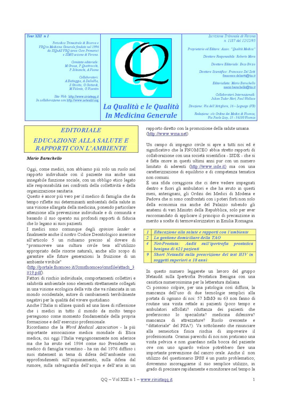 educazione del paziente per la prostatite acuta