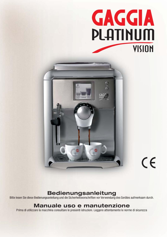 Satz Kaffeeautomaten Schlauchanschluss Heißwasser Dampf