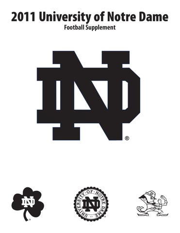 2011 Notre Dame Football Supplement by Chris Masters - issuu f50cde8d8