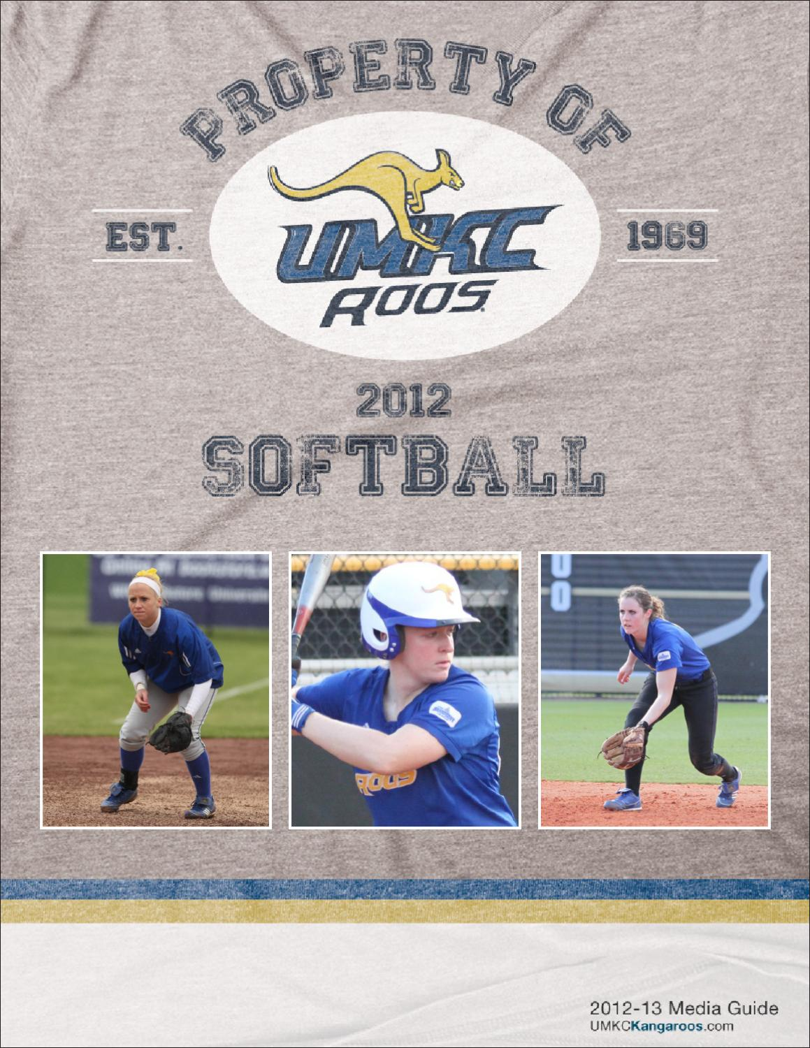 2012 UMKC Softball Media Guide by Nik Busch - issuu