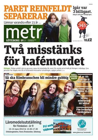 Reportern festade med reinfeldts medarbetare