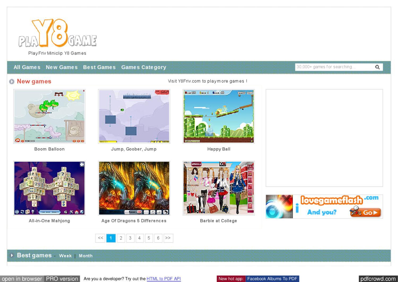 Friv miniclip y8 games online at www frivminiclipy8 com by Friv