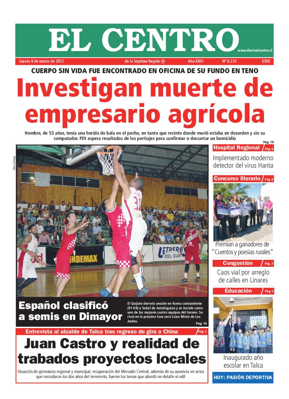 diario28  08-03-2012 by Diario El Centro S.A - issuu 474dbc3e5bde6