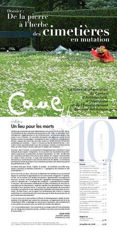 Lettre Dinformation Du CAUE 44 N10 De La Pierre A Lherbe Des