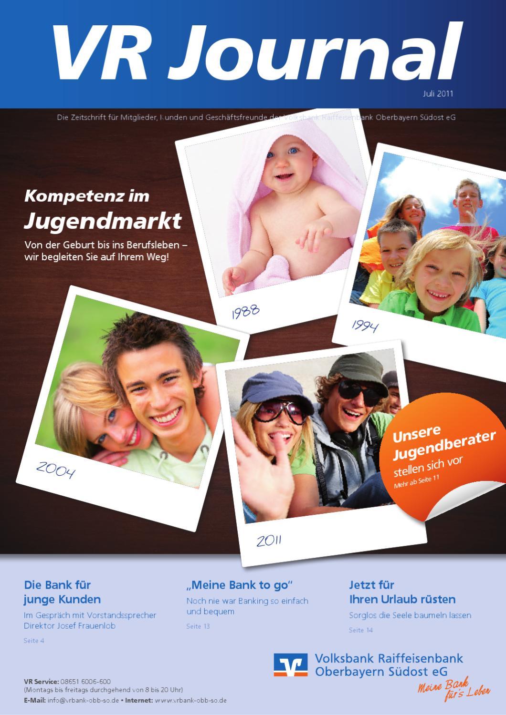 VR Journal (2-2011) by Volksbank Raiffeisenbank Oberbayern Südost eG ...