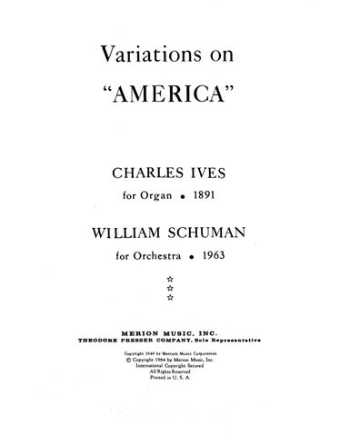 VARIATIONS ON AMERICA IVES PDF DOWNLOAD