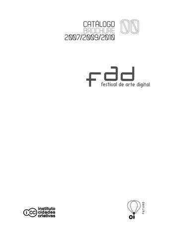Fad festival de arte digital 2007 2009 2010 by fad festival page 1 fandeluxe Choice Image