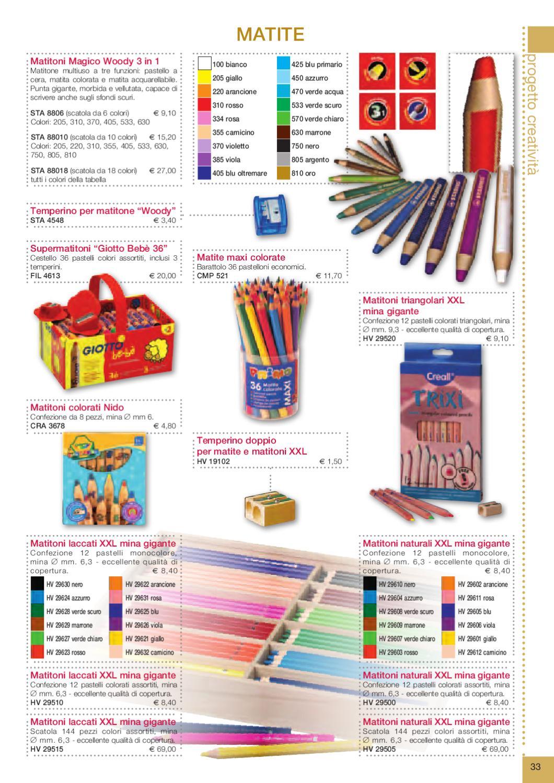 Colorati D Azzurro Chiaro progetto creativita - linea scuola sogno del bambino by