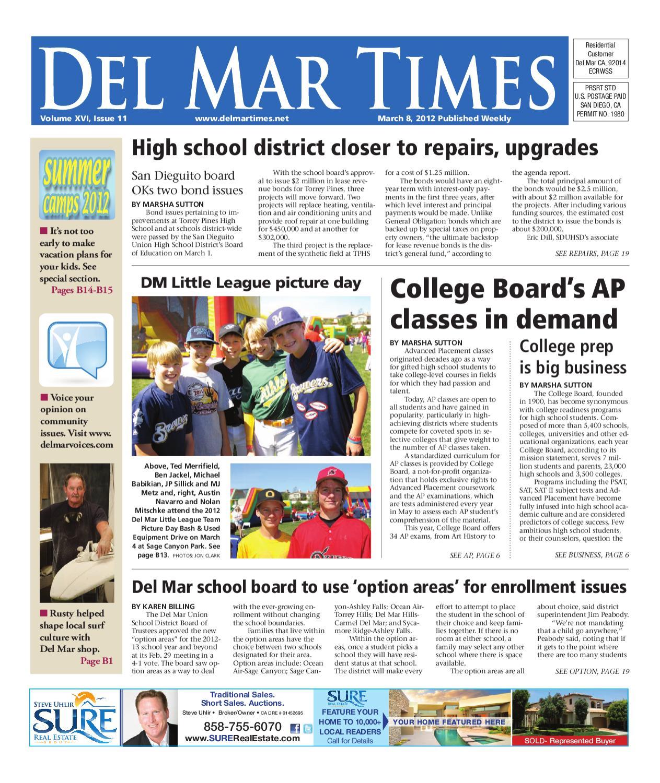 3.8.12 Del Mar Times by MainStreet Media - issuu