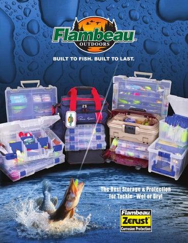 Flambeau Outdoors 1-Tray Hard Fishing Tackle Pink Ribbon Storage System