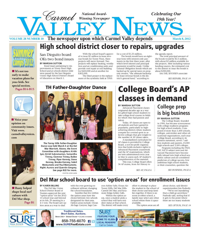 3.8.12-Carmel Valley News by MainStreet Media - issuu
