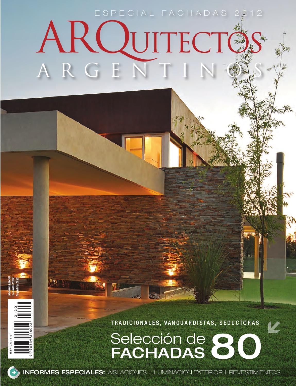 Fachadas 2012 by jauna issuu - Recubrimientos de fachadas de casas ...