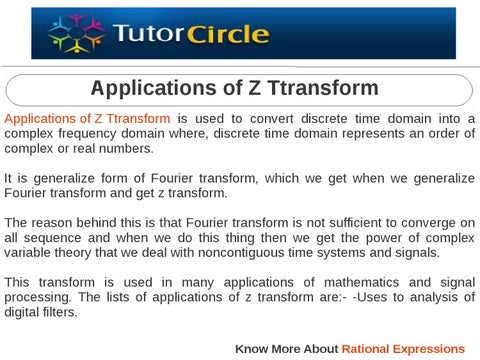 page 1 thumb large - Application Of Z Transform In Mechanical Engineering