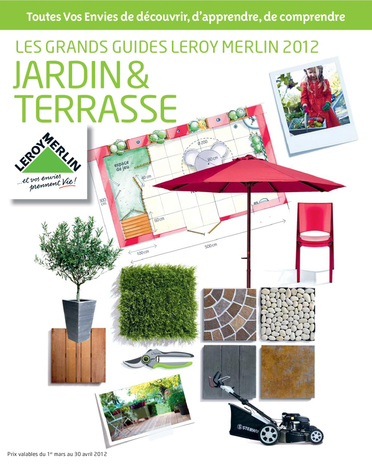 Element Pilier Leroy Merlin catalogue jardin leroy merlinmarcel - issuu