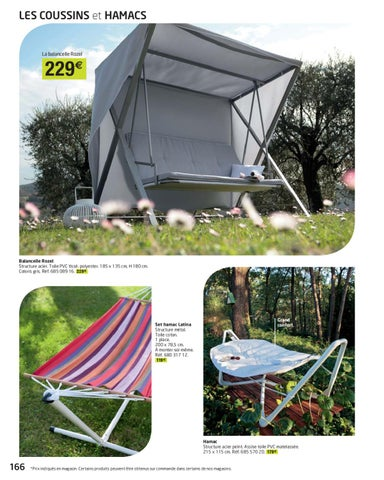 Balancelle jardin leroy merlin soldes salon de jardin - Leroy merlin mesa y sillas jardin saint denis ...