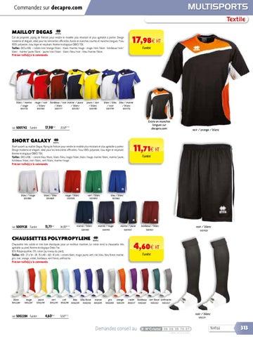 4dd161be123d Catalogue Decapro - Textile Club et Textile Entreprises by Decathlon ...