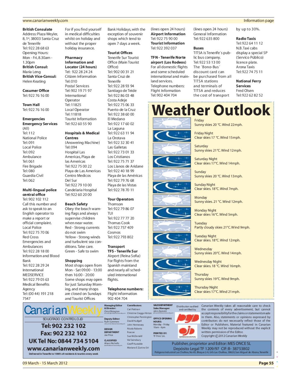Canarian Weekly Ed 744 by Canarian Weekly - issuu