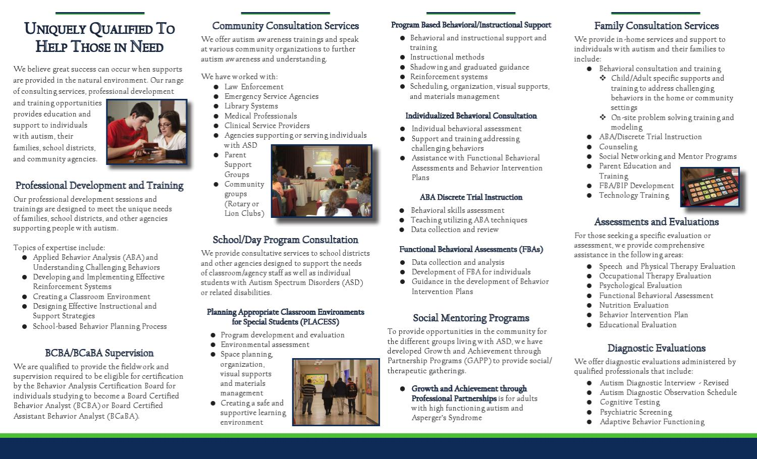 Anderson Center for Autism Consulting Services by Anderson Center