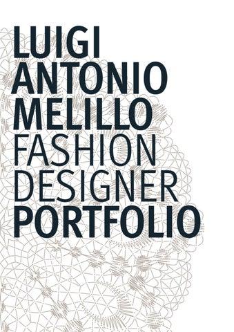 Luigi Antonio Melillo Fashion Designer Portfolio By Luigi Antonio