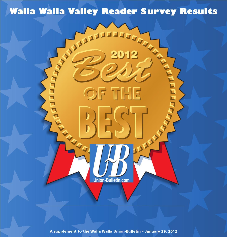 Great Best Of The Best 2012 By Walla Walla Union Bulletin   Issuu