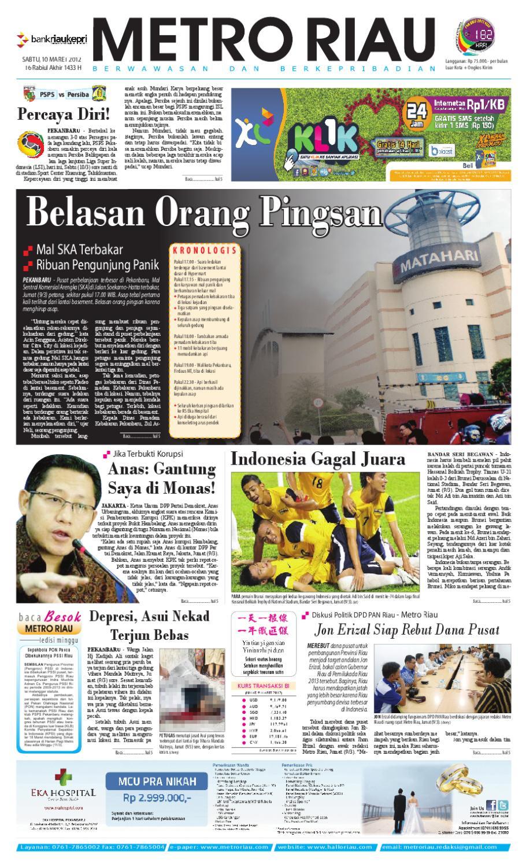 Metro Riau 10 03 2012 By Harian Pagi Issuu Mercedes Benz S 400 Tahun 20016 Karpet Mobil Comfort Deluxe 12mm Car Mat Full Set