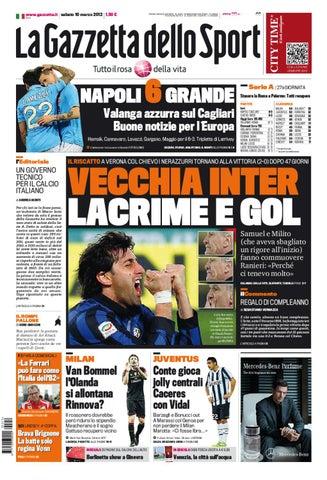 Gazzetta dello Sport 10 03 2012 (Uefa Streaming) by Gabriele Florio ... c23eafa240c