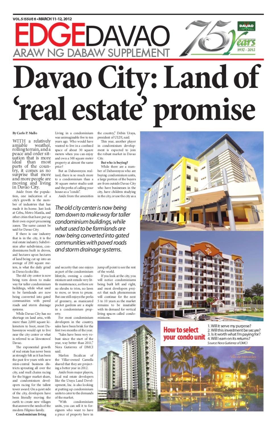 Edge Davao 5 Issue 6 by Edge Davao The Business Paper - issuu