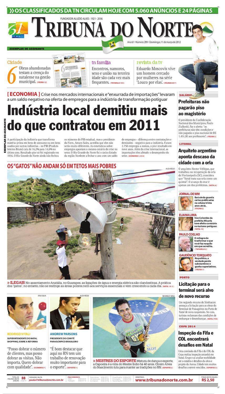 Tribuna do Norte - 11 03 2012 by Empresa Jornalística Tribuna do Norte Ltda  - issuu 1f4634d1e0