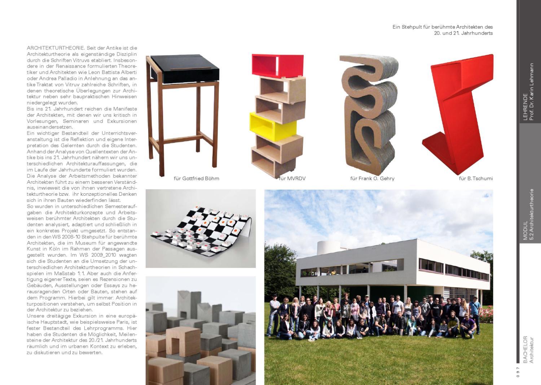 Jahrbuch Architektur Hs Bochum 2010 By Harald Gatermann Issuu