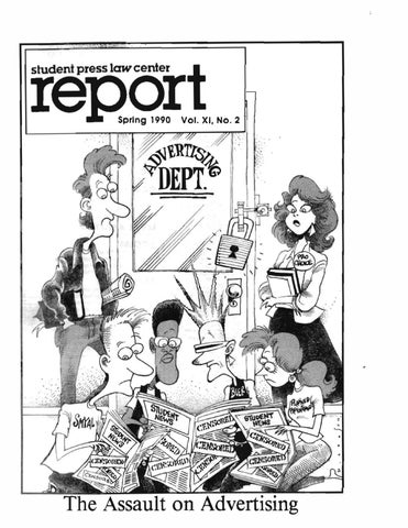 Spring 1990 By Student Press Law Center