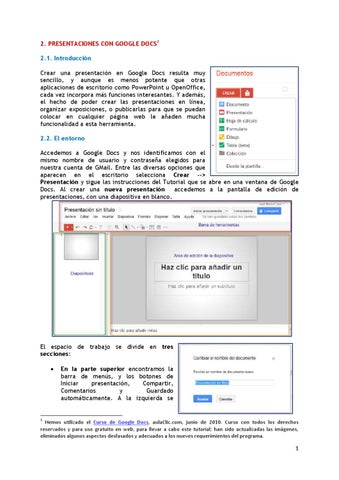 tutorial de google docs presentaciones by profesor tutor2010 issuu
