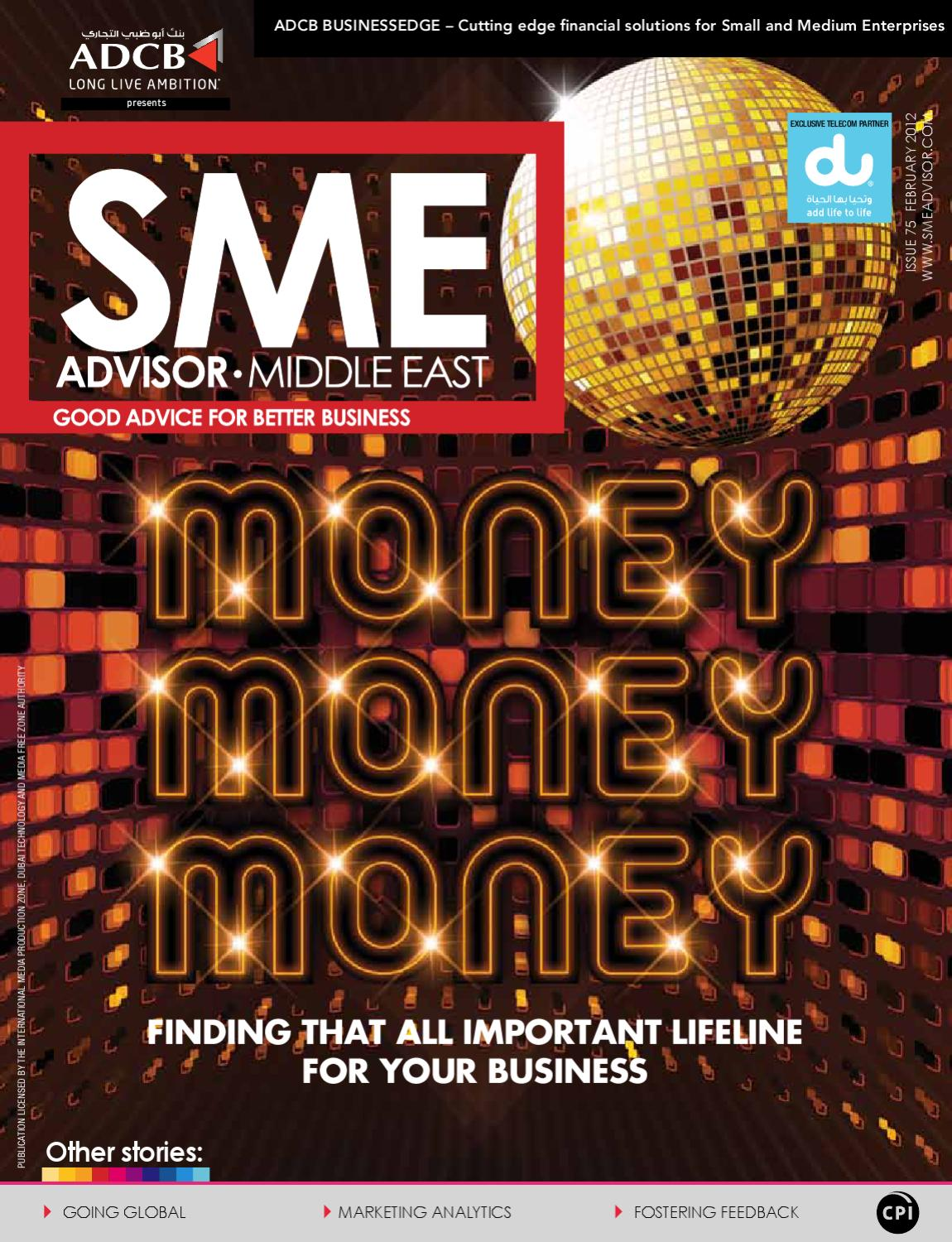 Sme Advisor Middle East Good Advice For Better Business By Block Diagram Sbd Audio Dock Portable Ticom Issuu