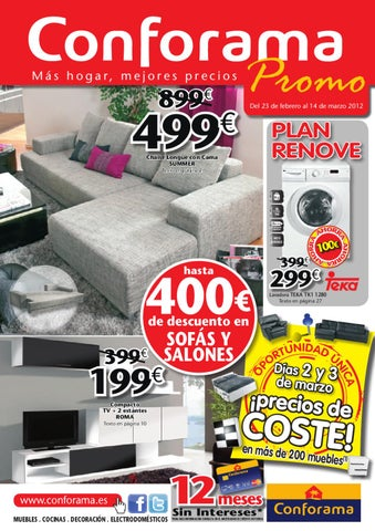 Cat logo conforama sof s y salones by - Conforama salones ...